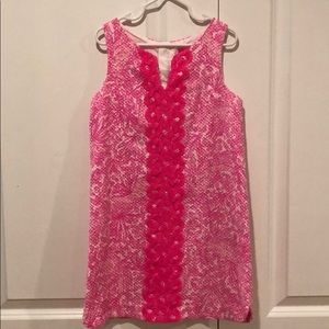 Lilly Pulitzer for Target pink shirt dress- 6-6x